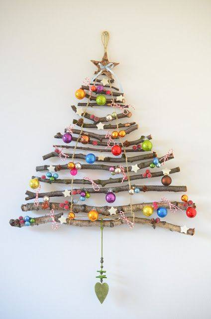 christmas tree crafts from sticks fun crafts kids