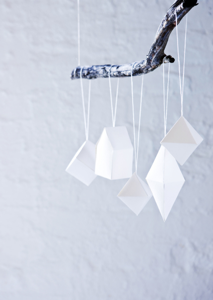 Geometric tree decorations