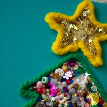 Christmas Tree Crafts – bright & colourful