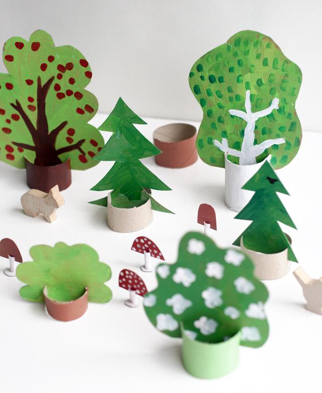 Cactus Christmas Tree Craft