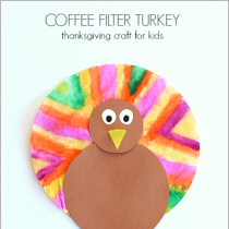 Coffee Filter Turkey Craft