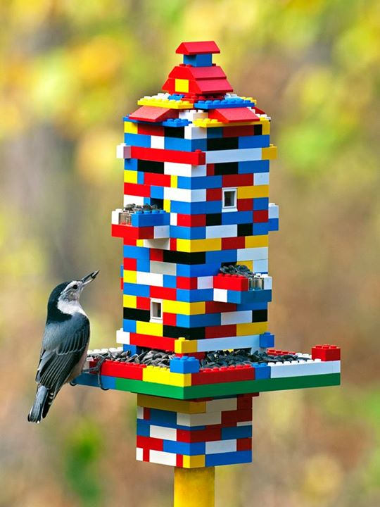 Bird Feeders - LEGO Crafts