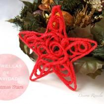 Christmas String Stars