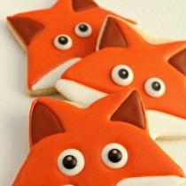 Fox Face Cookies