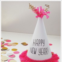 New Year's Eve Crafts – Party Hats