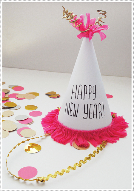 new year 39 s eve crafts party hats fun crafts kids