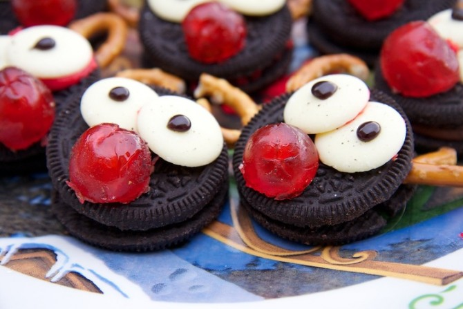 No Bake Rudolph Biscuits