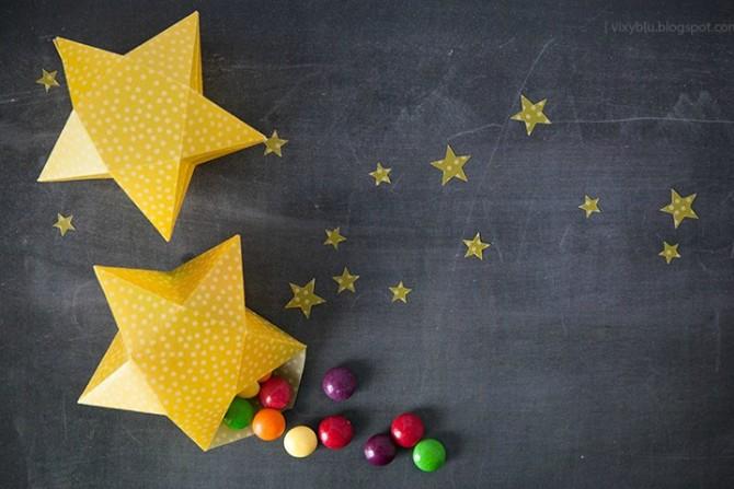 DIY Star Gift Boxes
