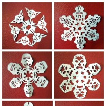 Star Wars Crafts – Snowflakes