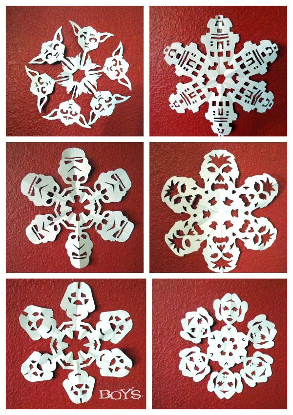 Star Wars Crafts – Snowflakes