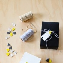 Air drying clay gift wrap