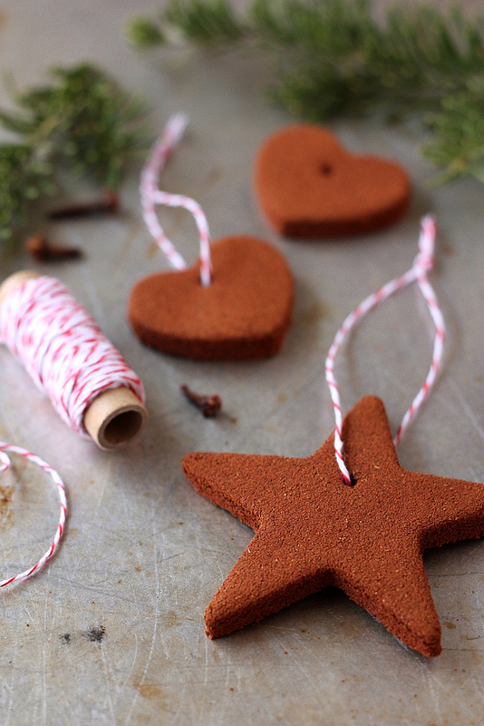 cinnamon ornaments recipe DIY