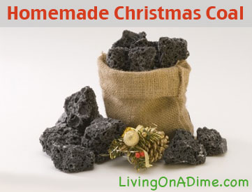 Edible Christmas Coal