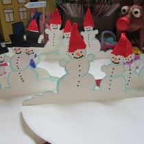 Snowmen Paper Plate Craft