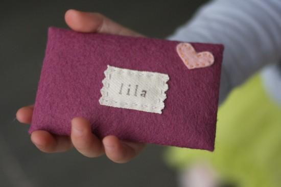 valentines heart felt envelope