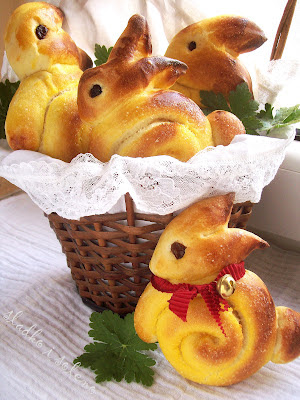 Cute Bunny Bread