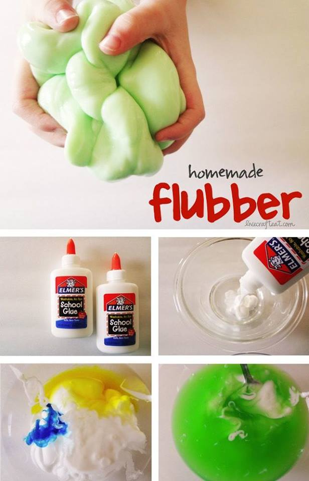 homemade flubber fun crafts kids