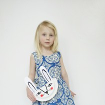 Paper Plate Bunny Purse