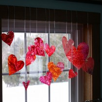 Stained Glass – Crayon Hearts