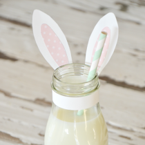 Bunny Milk or Gift (Free Printable)