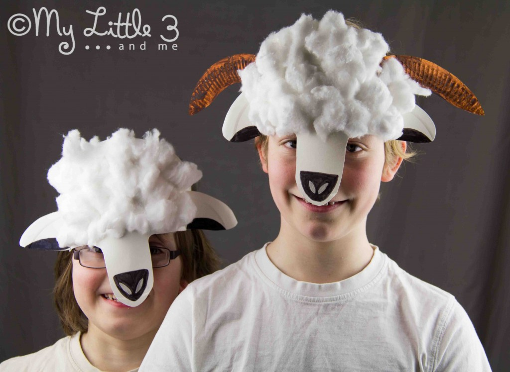 Sheep Craft - Paper Plate Mask