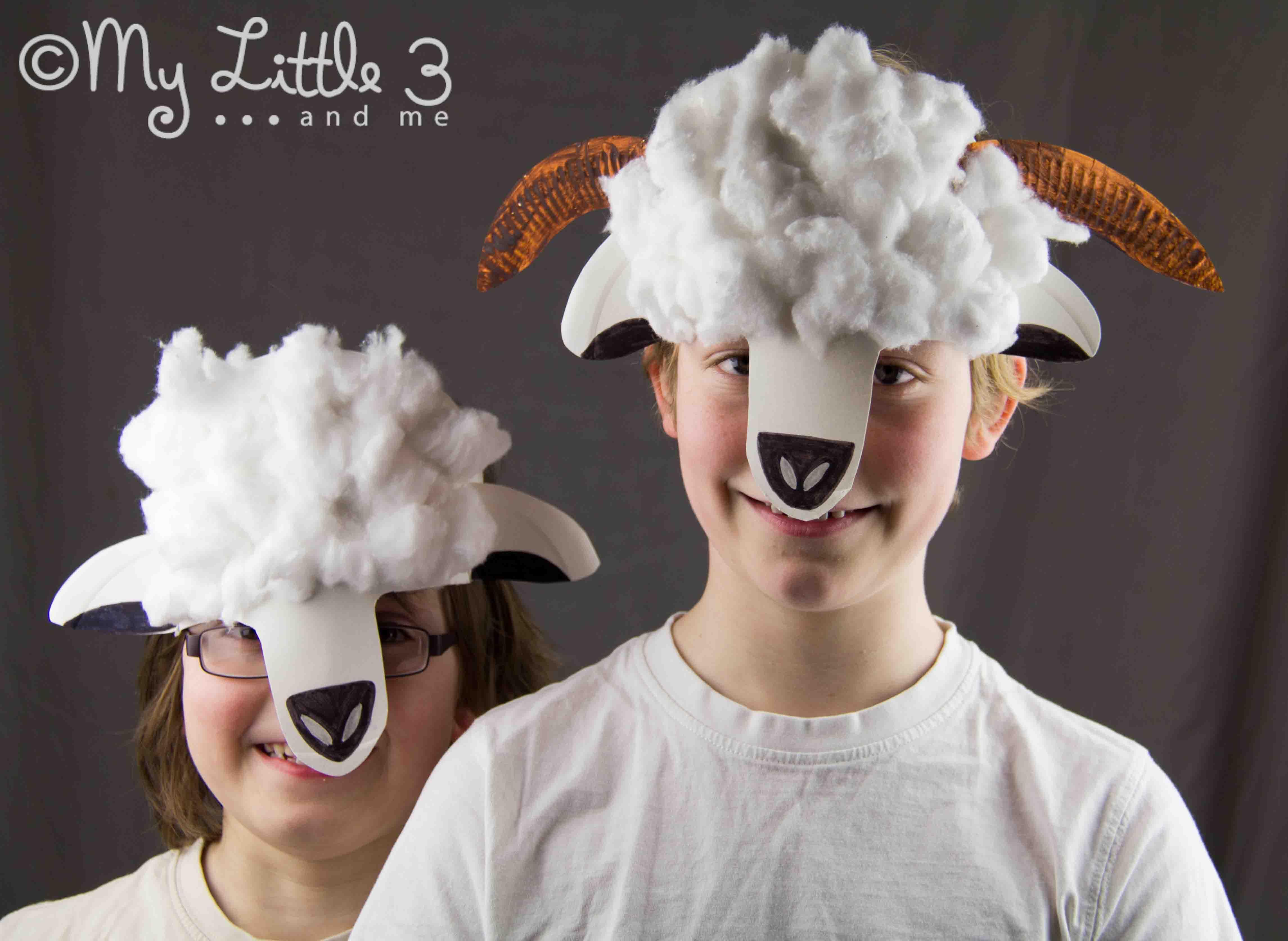 Sheep mask craft fun crafts kids