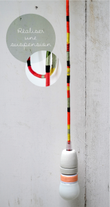 decorated light fitting