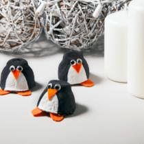 Egg Carton Crafts – Penguins