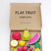 Print & Play – Fun Fruit Printables
