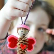 Pinecone Love Fairy