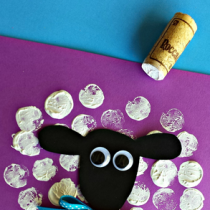 Sheep & Lamb Crafts – Wine Cork Printing