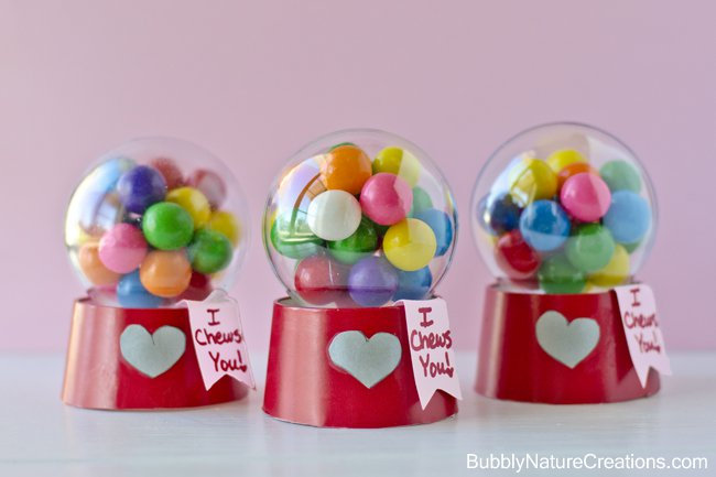 Mini Gumball Valentine's Idea