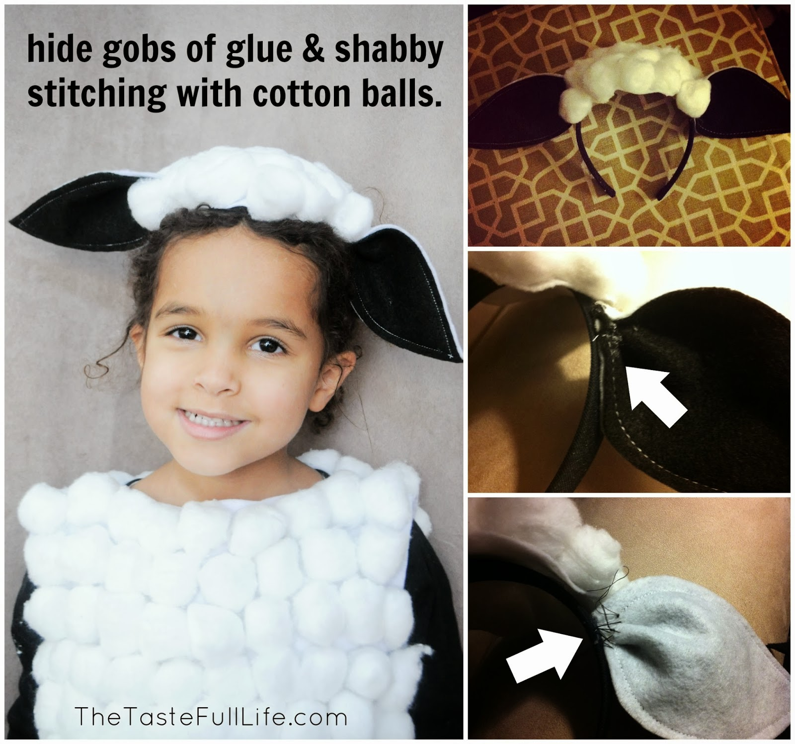 sc 1 st  Fun Crafts Kids & DIY Sheep Costume - Fun Crafts Kids