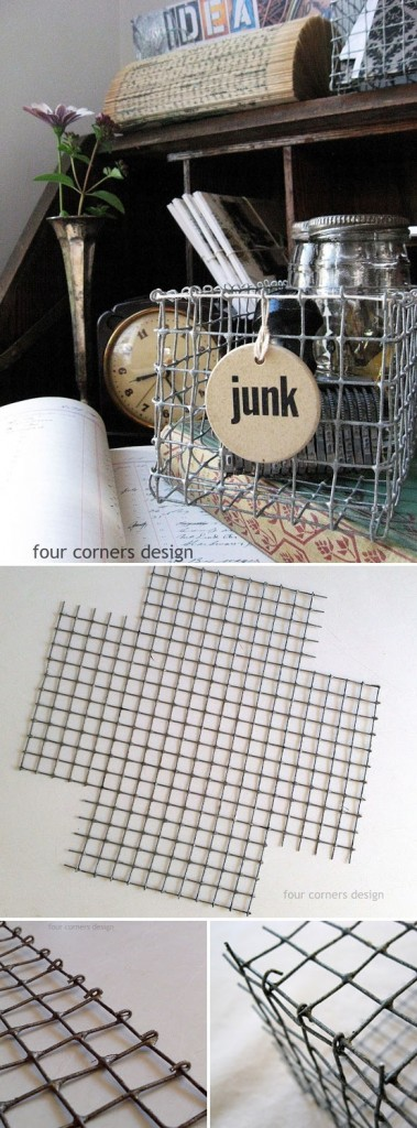 DIY Wire Baskets