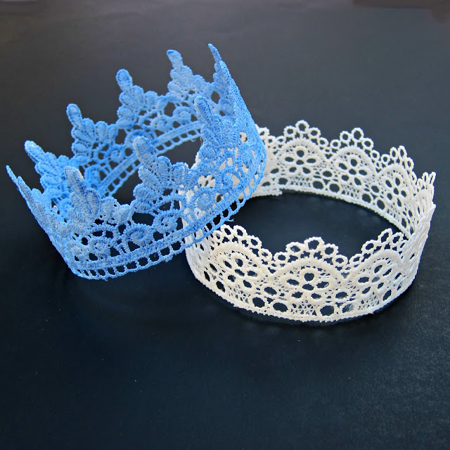 Lace Crowns How To
