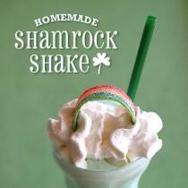 St Patrick's Day Milkshake – Shamrock Recipe
