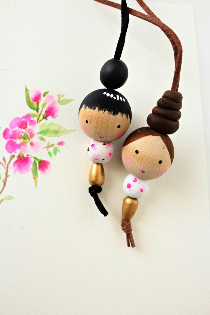 bead dolls