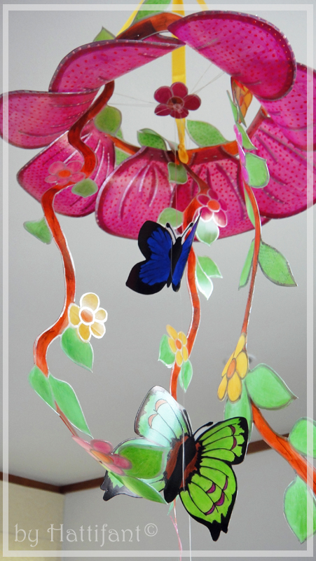 Plastic Bottle Mobile Craft – Beautiful