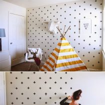 washi tape wallpaper