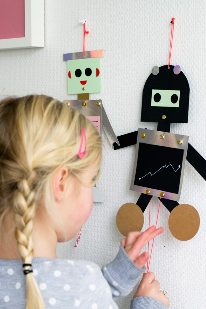 How To Make A Simple Robot Craft