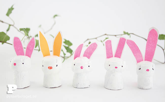 Cork Bunny Craft