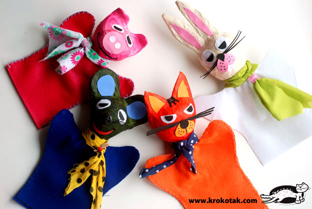 DIY Puppet Crafts