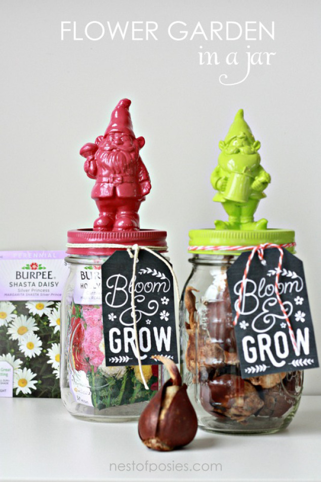 Flowers in a Jar – Spring Gift