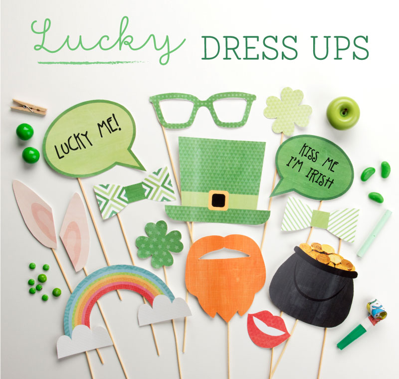 St Patrick's Day Dress Up/ Photo Booth