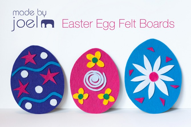 DIY Easter Egg Felt Boards