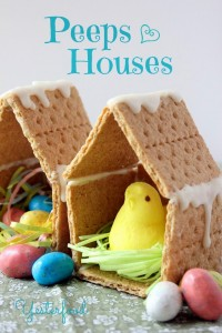 Peeps Houses by Yesterfood