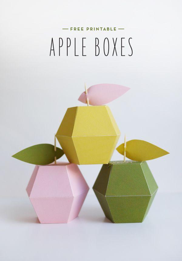 Printable Apples