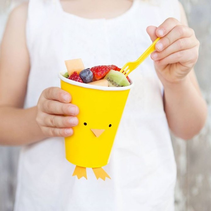 Simple Chick Treat Bucket (and other characters)
