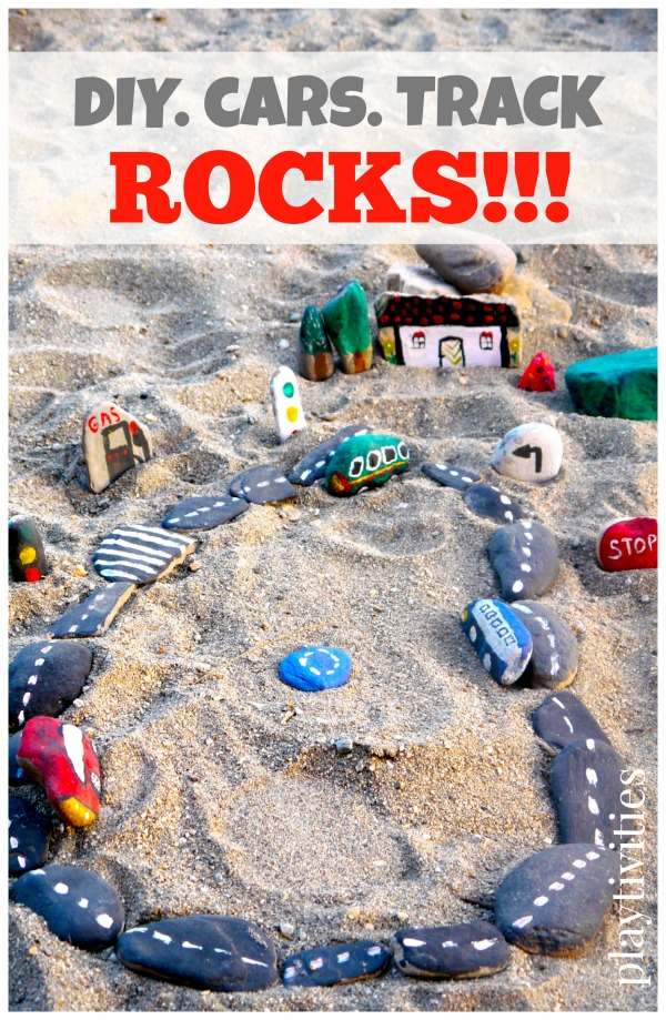 DIY Stone Crafts: Make a Road & Cars - Fun Crafts Kids