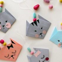 How to Make an Easy Origami Cat